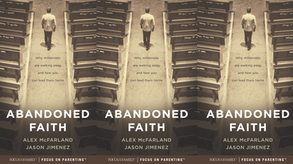 Listen to Dr. Alex McFarland's Podcast about 'Abandoned Faith'